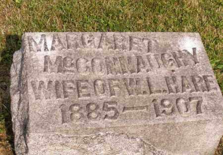 MCCONNAUGHY, MARGARET - Belmont County, Ohio | MARGARET MCCONNAUGHY - Ohio Gravestone Photos