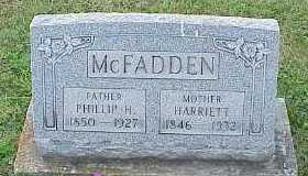 MCFADDEN, HARRIETT - Belmont County, Ohio | HARRIETT MCFADDEN - Ohio Gravestone Photos