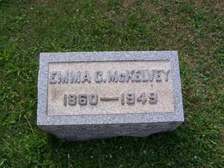 MCKELVEY, EMMA C - Belmont County, Ohio | EMMA C MCKELVEY - Ohio Gravestone Photos