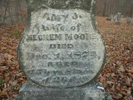 MOORE, AMY J - Belmont County, Ohio | AMY J MOORE - Ohio Gravestone Photos