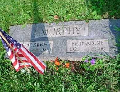 MURPHY, WOODROW - Belmont County, Ohio | WOODROW MURPHY - Ohio Gravestone Photos