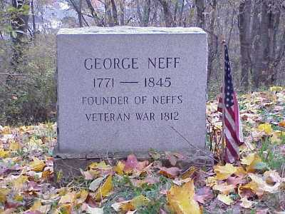NEFF, GEORGE - Belmont County, Ohio | GEORGE NEFF - Ohio Gravestone Photos
