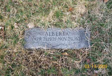 OCHSENBEIN, ALBERTA - Belmont County, Ohio | ALBERTA OCHSENBEIN - Ohio Gravestone Photos
