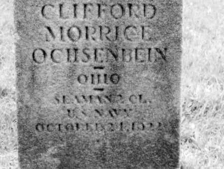 OCHSENBEIN WWI VET, CLIFFORD MORRICE - Belmont County, Ohio | CLIFFORD MORRICE OCHSENBEIN WWI VET - Ohio Gravestone Photos