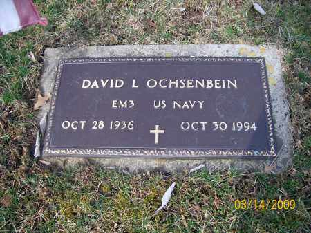 OCHSENBEIN, DAVID L. - Belmont County, Ohio | DAVID L. OCHSENBEIN - Ohio Gravestone Photos