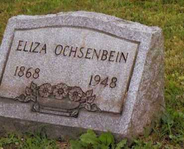 OCHSENBEIN, ELIZA - Belmont County, Ohio | ELIZA OCHSENBEIN - Ohio Gravestone Photos