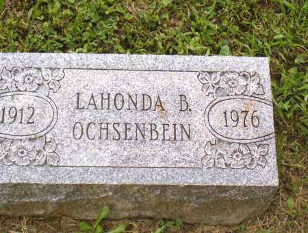 OCHSENBEIN, LAHONDA B - Belmont County, Ohio | LAHONDA B OCHSENBEIN - Ohio Gravestone Photos