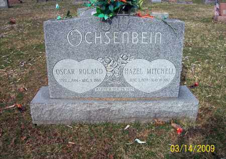 OCHSENBEIN, OSCAR ROLAND - Belmont County, Ohio | OSCAR ROLAND OCHSENBEIN - Ohio Gravestone Photos