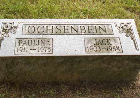 OCHSENBEIN, PAULINE - Belmont County, Ohio | PAULINE OCHSENBEIN - Ohio Gravestone Photos