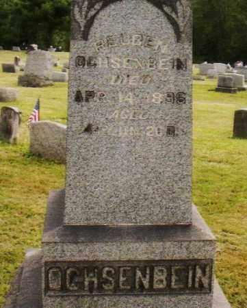 OCHSENBEIN, REUBEN - Belmont County, Ohio | REUBEN OCHSENBEIN - Ohio Gravestone Photos