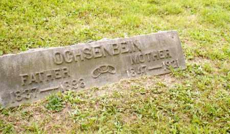 RADER OCHSENBEIN, MARION ARMINTA - Belmont County, Ohio | MARION ARMINTA RADER OCHSENBEIN - Ohio Gravestone Photos