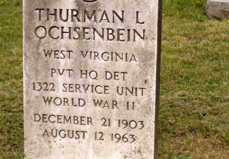 OCHSENBEIN, THURMAN L - Belmont County, Ohio | THURMAN L OCHSENBEIN - Ohio Gravestone Photos