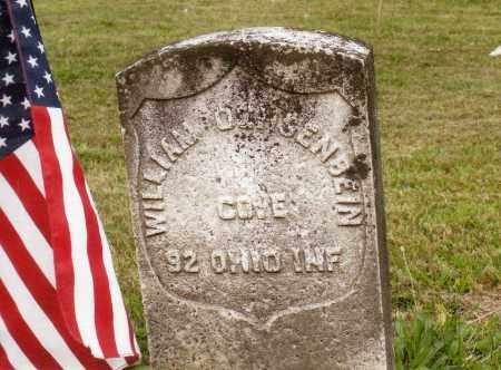 OCHSENBEIN CW VET, WILLIAM - Belmont County, Ohio | WILLIAM OCHSENBEIN CW VET - Ohio Gravestone Photos