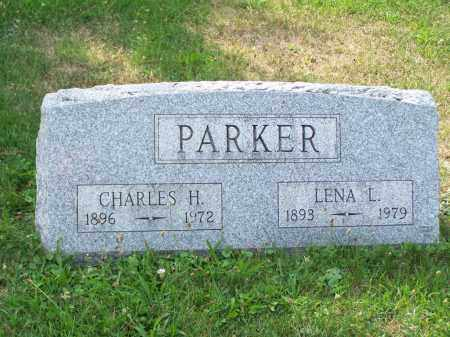 PARKER, CHARLES H - Belmont County, Ohio | CHARLES H PARKER - Ohio Gravestone Photos
