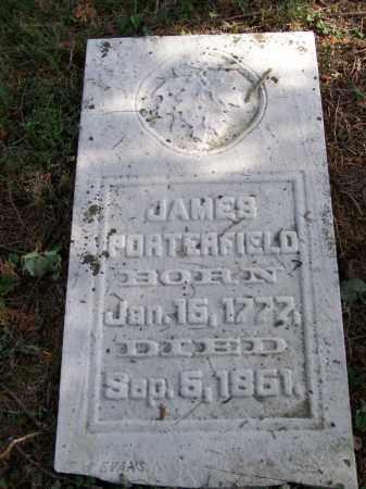 PORTERFIELD, JAMES - Belmont County, Ohio   JAMES PORTERFIELD - Ohio Gravestone Photos
