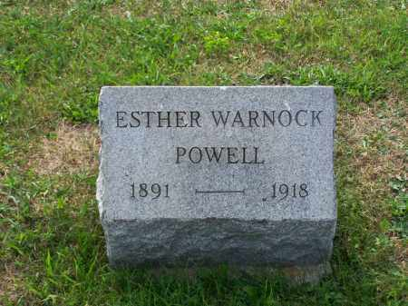 POWELL, ESTHER - Belmont County, Ohio | ESTHER POWELL - Ohio Gravestone Photos