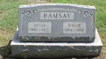 RAMSAY, ROLLIE - Belmont County, Ohio | ROLLIE RAMSAY - Ohio Gravestone Photos