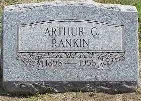 RANKIN, ARTHUR C. - Belmont County, Ohio | ARTHUR C. RANKIN - Ohio Gravestone Photos