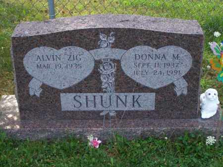 SHUNK, DONNA M - Belmont County, Ohio | DONNA M SHUNK - Ohio Gravestone Photos