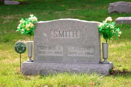 SMITH, GEORGE A. - Belmont County, Ohio | GEORGE A. SMITH - Ohio Gravestone Photos