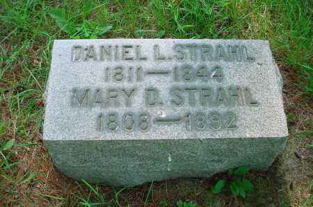 STRAHL, MARY D. - Belmont County, Ohio | MARY D. STRAHL - Ohio Gravestone Photos