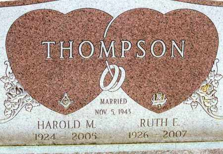OCHSENBEIN THOMPSON, RUTH EILEEN - Belmont County, Ohio | RUTH EILEEN OCHSENBEIN THOMPSON - Ohio Gravestone Photos