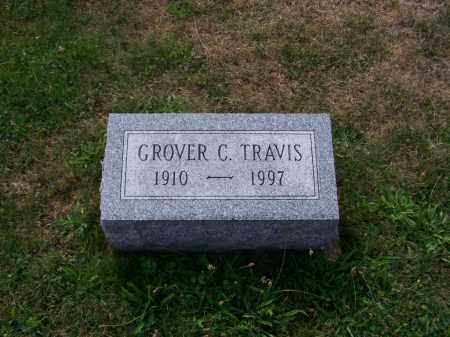 TRAVIS, GROVER C - Belmont County, Ohio | GROVER C TRAVIS - Ohio Gravestone Photos