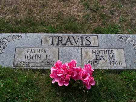 TRAVIS, JOHN H - Belmont County, Ohio | JOHN H TRAVIS - Ohio Gravestone Photos