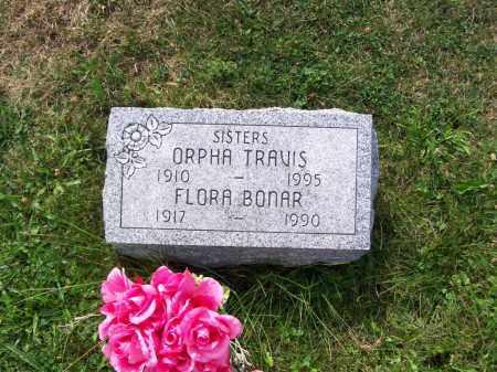 TRAVIS, ORPHA - Belmont County, Ohio | ORPHA TRAVIS - Ohio Gravestone Photos
