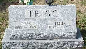 TRIGG, EMMA - Belmont County, Ohio | EMMA TRIGG - Ohio Gravestone Photos