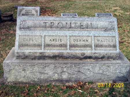 TROUTEN, ARLIE - Belmont County, Ohio | ARLIE TROUTEN - Ohio Gravestone Photos