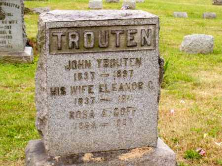 LILLER TROUTEN, ELEANOR CATHERINE - Belmont County, Ohio | ELEANOR CATHERINE LILLER TROUTEN - Ohio Gravestone Photos