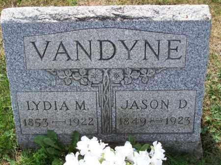 VANDYNE, LYDIA M - Belmont County, Ohio | LYDIA M VANDYNE - Ohio Gravestone Photos