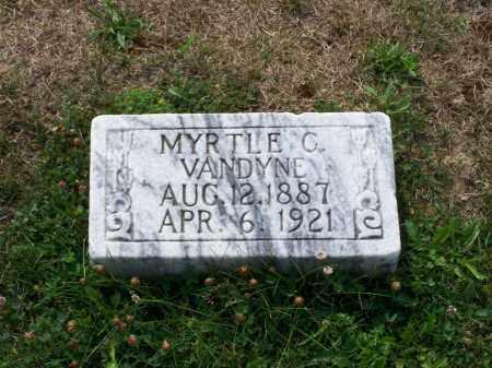 VANDYNE, MYRTLE C - Belmont County, Ohio | MYRTLE C VANDYNE - Ohio Gravestone Photos