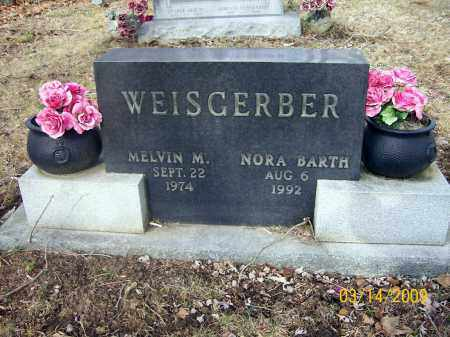 BARTH WEISGERBER, NORA - Belmont County, Ohio | NORA BARTH WEISGERBER - Ohio Gravestone Photos