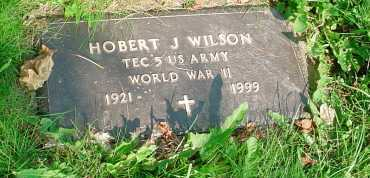 WILSON, HOBERT J. - Belmont County, Ohio   HOBERT J. WILSON - Ohio Gravestone Photos