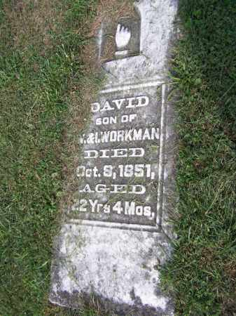 WORKMAN, DAVID - Belmont County, Ohio | DAVID WORKMAN - Ohio Gravestone Photos