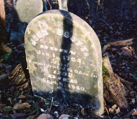 SCOTT, JOHN - Brown County, Ohio | JOHN SCOTT - Ohio Gravestone Photos