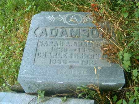 ADAMSON, SARAH  A - Brown County, Ohio | SARAH  A ADAMSON - Ohio Gravestone Photos