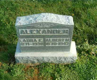 ALEXANDER, ALBERT  M - Brown County, Ohio | ALBERT  M ALEXANDER - Ohio Gravestone Photos