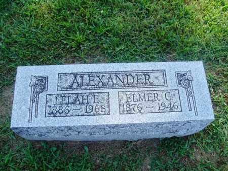G ALEXANDER, ELMER - Brown County, Ohio | ELMER G ALEXANDER - Ohio Gravestone Photos