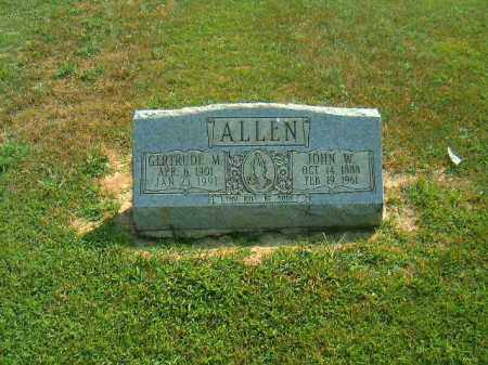 ALLEN, JOHN  W - Brown County, Ohio | JOHN  W ALLEN - Ohio Gravestone Photos