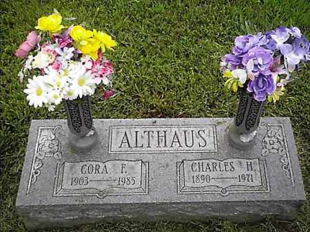 ALTHAUS, CORA - Brown County, Ohio | CORA ALTHAUS - Ohio Gravestone Photos