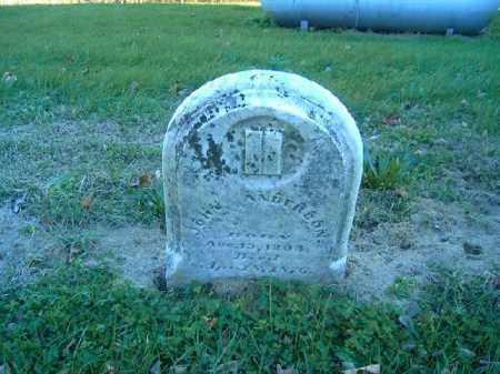 ANDERSON, JOHN - Brown County, Ohio | JOHN ANDERSON - Ohio Gravestone Photos