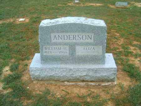 ANDERSON, WILLIAM  H - Brown County, Ohio | WILLIAM  H ANDERSON - Ohio Gravestone Photos