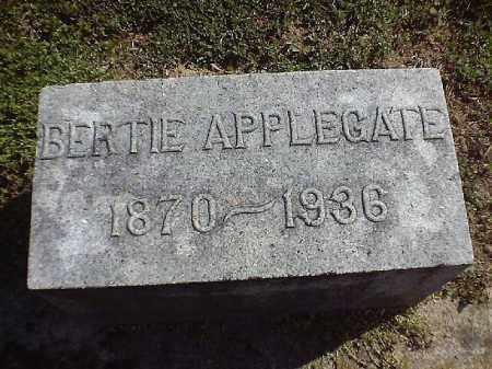 APPLEGATE, BERTIE - Brown County, Ohio | BERTIE APPLEGATE - Ohio Gravestone Photos