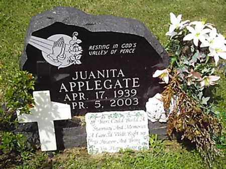 APPLEGATE, JUANITA - Brown County, Ohio | JUANITA APPLEGATE - Ohio Gravestone Photos