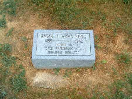 ARMSTRONG, EMMA  F - Brown County, Ohio | EMMA  F ARMSTRONG - Ohio Gravestone Photos