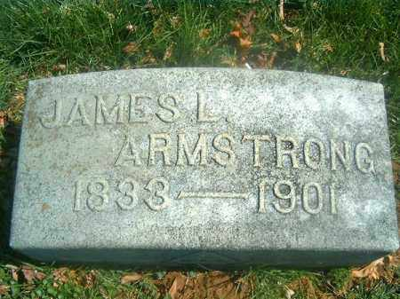 ARMSTRONG, JAMES L - Brown County, Ohio | JAMES L ARMSTRONG - Ohio Gravestone Photos