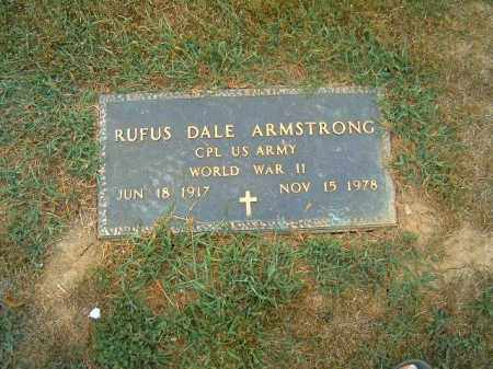 ARMSTRONG, RUFUS  DALE - Brown County, Ohio | RUFUS  DALE ARMSTRONG - Ohio Gravestone Photos